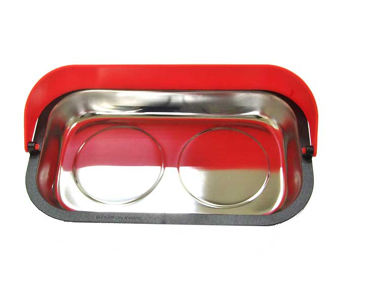 1342A Rectangular Magnetic Tray with Hood 240 x 140 mm